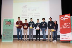 Medaille d' Or -2nde place- ENS LYON