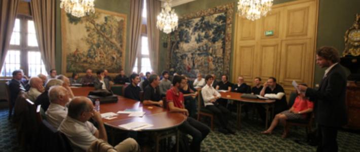 Réception à l'Académie des Sciences