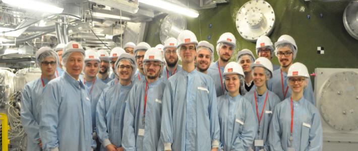 Visite du Laser Mégajoule pour les lauréats de la sélection nationale 2016